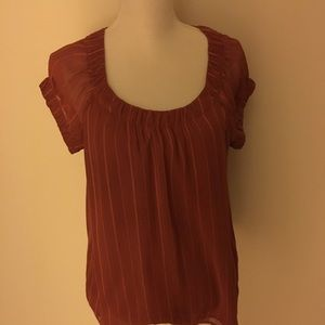 Banana republic top size medium short sleeve